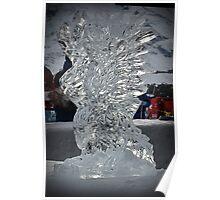 Arosa Ice Eagle Poster
