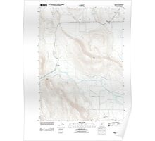 USGS Topo Map Oregon Dairy 20110902 TM Poster
