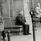 Waiting and Watching-Orvieto, Italy by Deborah Downes
