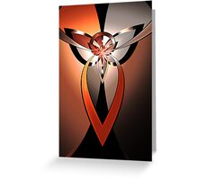 Tri-Form Abstract II Greeting Card