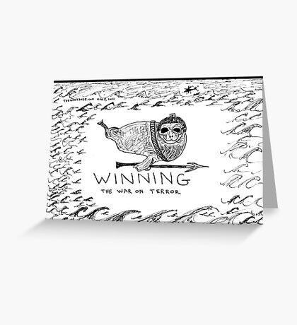 Seal Power Greeting Card