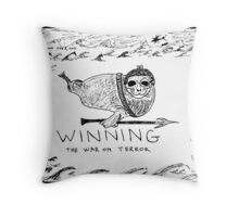 Seal Power Throw Pillow