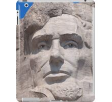 Abraham Lincoln, Mount Rushmore National Memorial .2 iPad Case/Skin