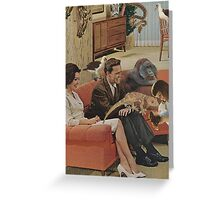 Domestic Bliss Greeting Card