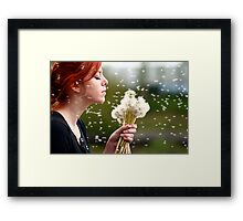 I Could Really Use A Wish Right Now Framed Print