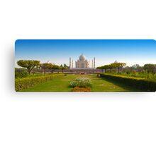 Taj Mahal-5/2011 Canvas Print