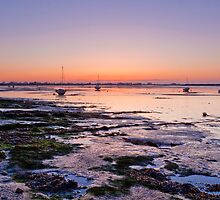 Dawn  -  Heybridge Basin Near Maldon  Essex  UK by James  Key