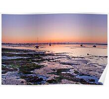 Dawn  -  Heybridge Basin Near Maldon  Essex  UK Poster