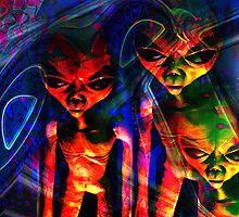 What Are Those Earthlings Doing Now? by CarolM