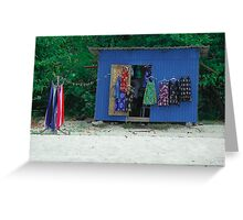 Retail - Open For Business Greeting Card