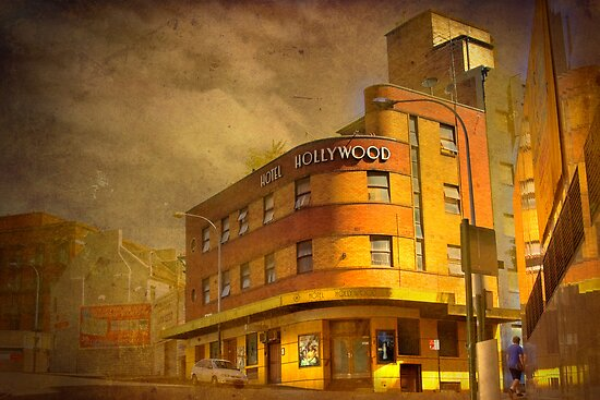 By-Gone Era - Hotel Hollywood, Surry Hills, Sydney, Australia by Mark Richards