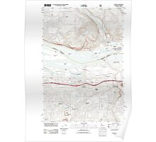 USGS Topo Map Washington Camas 20110727 TM Poster