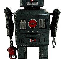 Lantern Robot 2 by Benedict Middleton