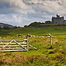 Glengorm castle on a brooding May day by Shaun Whiteman