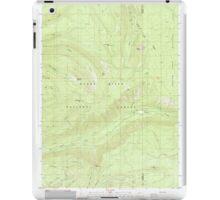 USGS Topo Map Oregon Red Blanket Mountain 281236 1985 24000 iPad Case/Skin