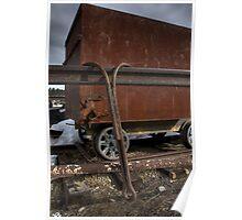 Lumber Hooks & Utility Cart Poster