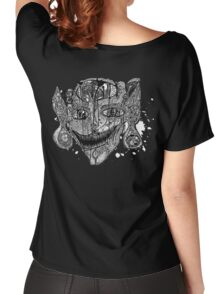 Shroom Imp B&W redone Women's Relaxed Fit T-Shirt