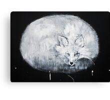 ITS OWN DELIGHT #fox Canvas Print