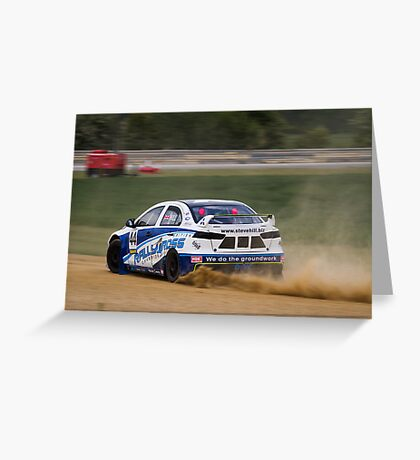 Blyton Park Rallycross - Steve Hill Greeting Card