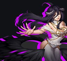 OVERLORD - Albedo (RENDER) by frictionqt