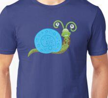 a smiley happy snail  Unisex T-Shirt