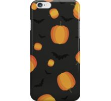 halloween party pumpkin iPhone Case/Skin