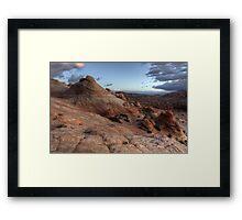 Alien Landscape Framed Print