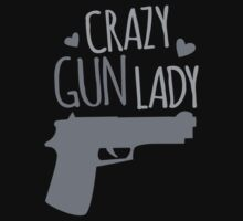 Crazy Gun Lady Kids Tee