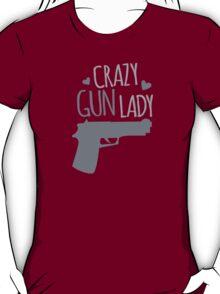 Crazy Gun Lady T-Shirt