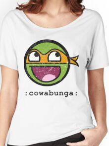 Cowabunga Buddy Squad: Michelangelo Women's Relaxed Fit T-Shirt