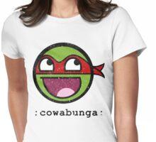 Cowabunga Buddy Squad: Raphael Womens Fitted T-Shirt