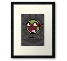Cowabunga Buddy Squad: Raphael Framed Print