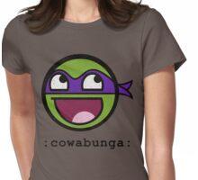 Cowabunga Buddy Squad: Donatello Womens Fitted T-Shirt