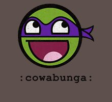 Cowabunga Buddy Squad: Donatello Womens Fitted T-Shirt