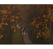 Sunset walk Photographic Print