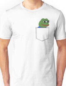 Happy Pocket Pepe Unisex T-Shirt