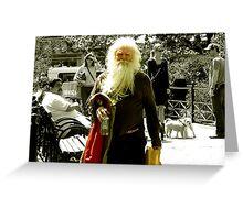 Mr. DKNY Greeting Card