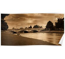 Musselburgh River Esk Poster