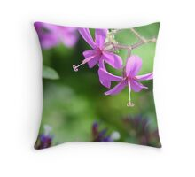 Pretty in Pink - National Botanic Garden, Wales Throw Pillow