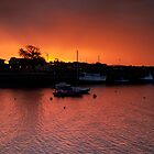 Musselburgh Harbour Sunset by KWTImages