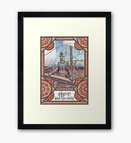 King Ciryandil of Gondor Framed Print