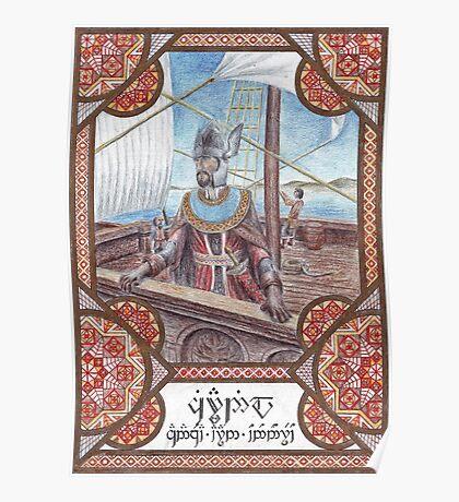 King Ciryandil of Gondor Poster