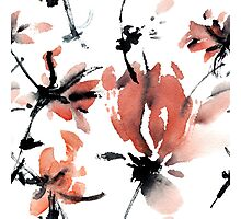 Sakura flower pattern Photographic Print