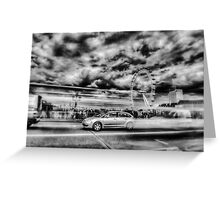 London in Motion Greeting Card