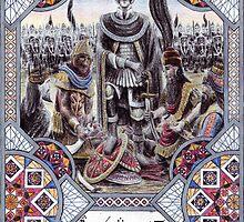 King Hyarmendacil I of Gondor by Matěj Čadil