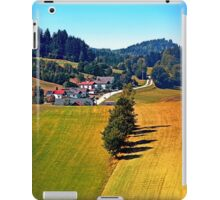 A village, some trees, and more boring scenery iPad Case/Skin