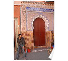 Marrakech, Morocco Poster