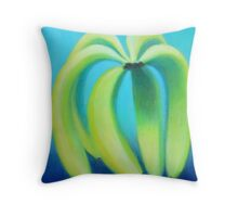 Meaningful Conversations About Bananas Throw Pillow