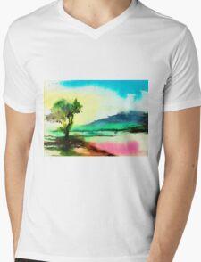 Dreamland Mens V-Neck T-Shirt