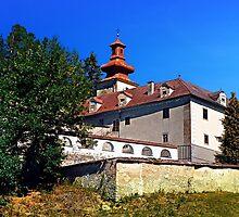 Waldenfels castle, south side by Patrick Jobst